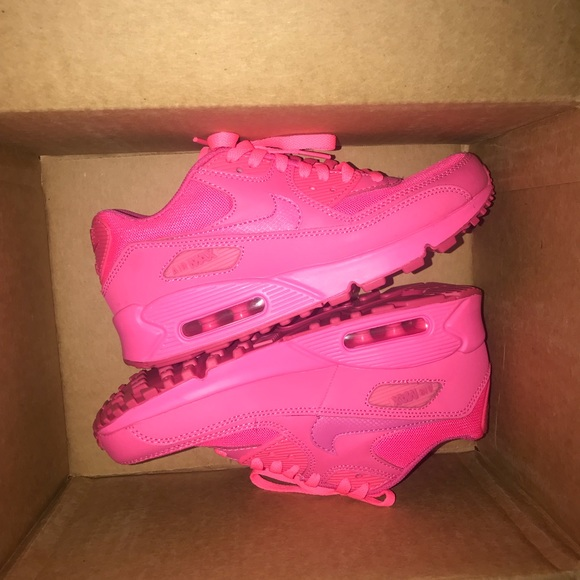 low priced a3dbe 4605d hot pink nike air max 90